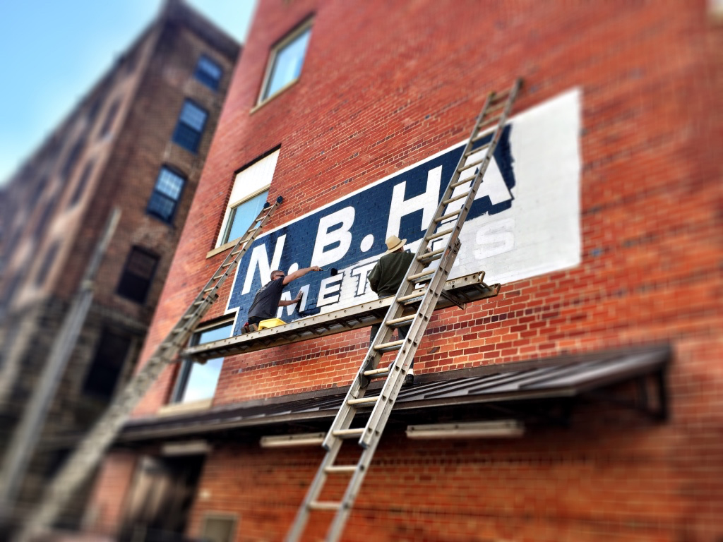 Historic Preservation of Old Signage - Painters