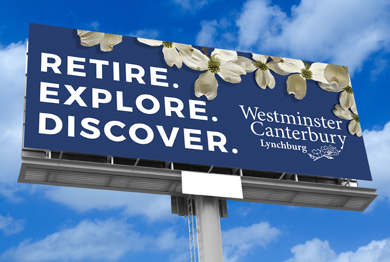 Westminster Caterbury Retire Advertising Billboards Design Palcement Stimulus