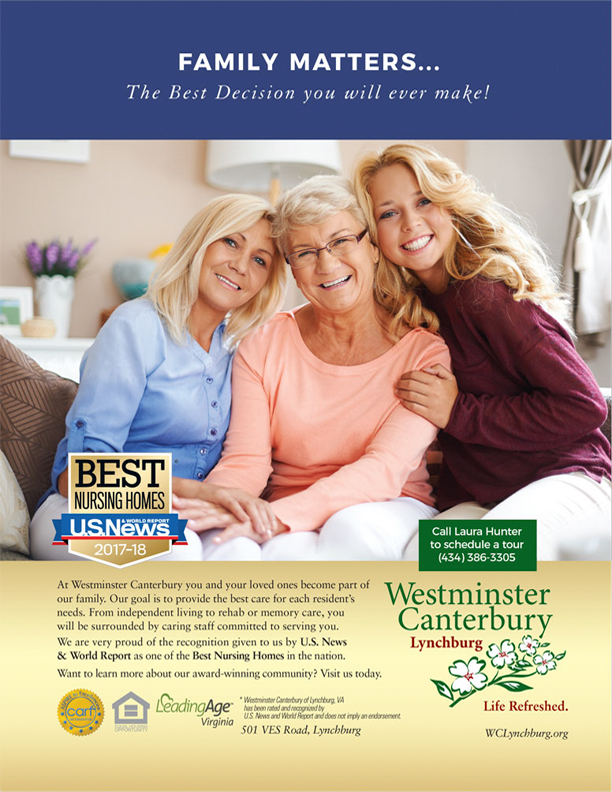 Westminster Canterbury Lynchburg Print Ad Stimulus Advertising