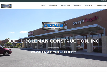 Joe H. Coleman Construction